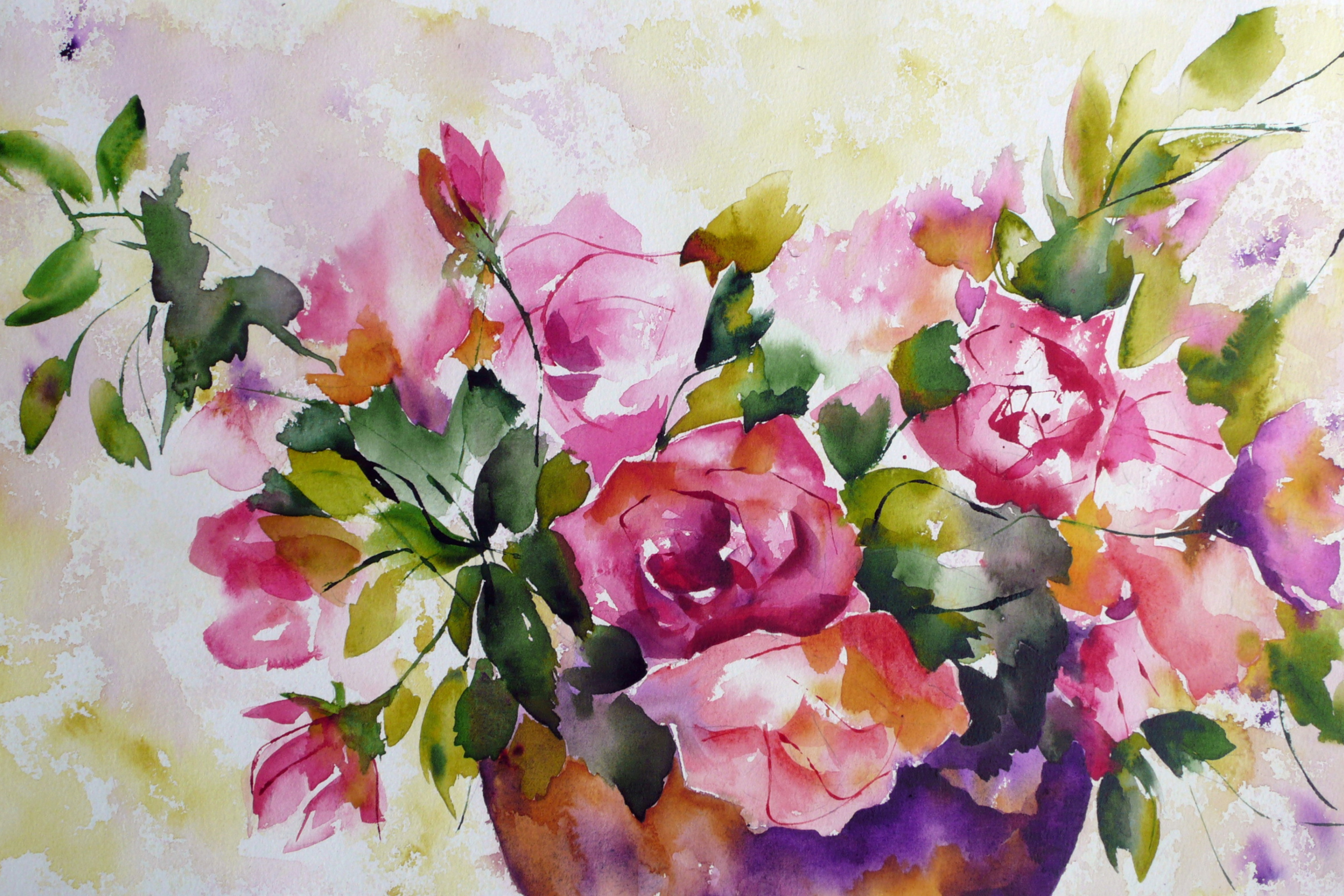 watercolor paintings images - HD2880×1920