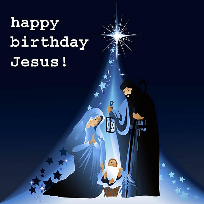 Happy Birthday Jesus Merry Christmas Jameser And The