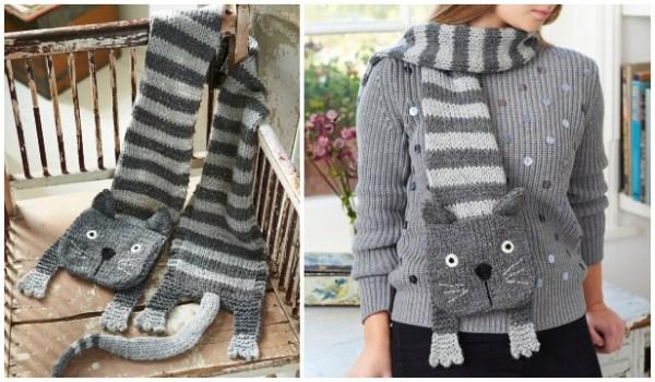 free cat knitting patterns # 81