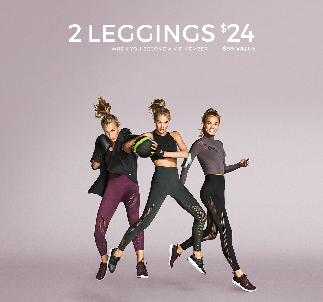 Activewear  Fitness   Workout Clothes   Fabletics by Kate Hudson Made to Move Leggings  2 for  24   99 Value  When you become a