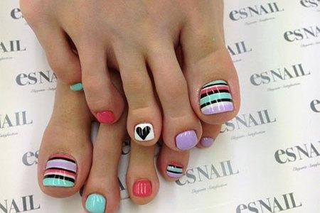 Imgenes De Toe Nail Art Tutorial For Beginners