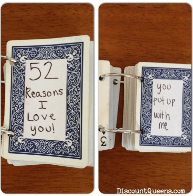 52 Reasons I Love You Valentines