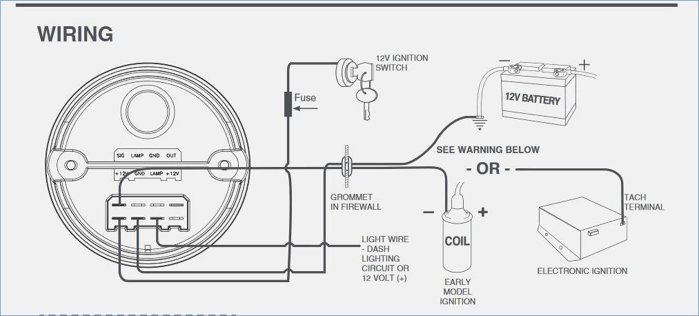 faria tachometer wiring