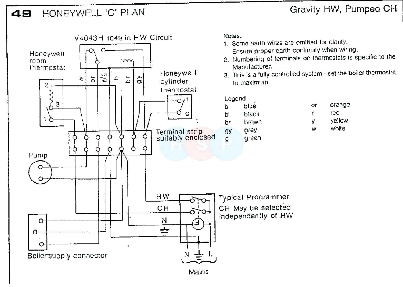 V8043f1036 Honeywell Wiring Diagram