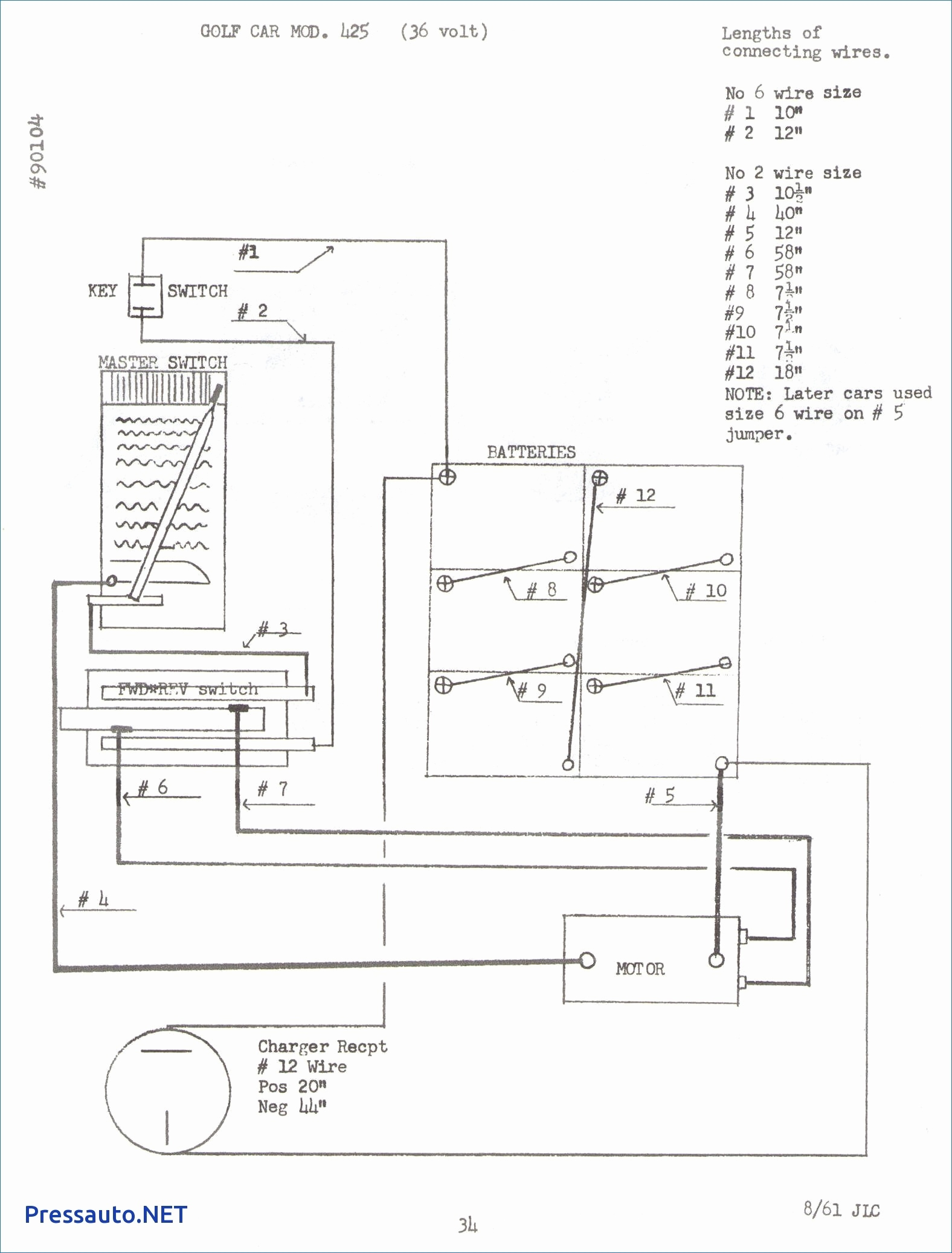 36 Volt Club Car Wiring Diagram 1984