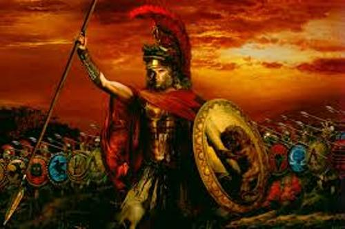 Alexander Great Statue