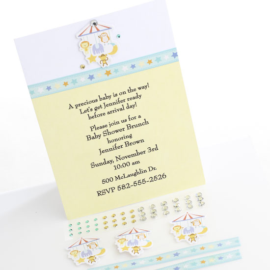 Create Your Own Wedding Shower Invitations