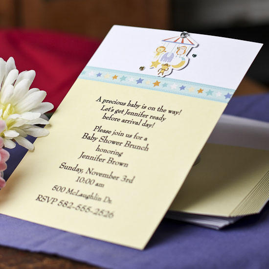Create Own Baby Shower Invitations
