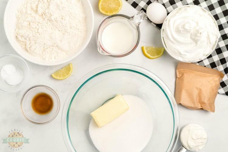 Lemon Cream Pie Cookies