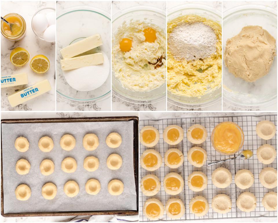 How to Make Lemon Thumbprint Cookies recipe