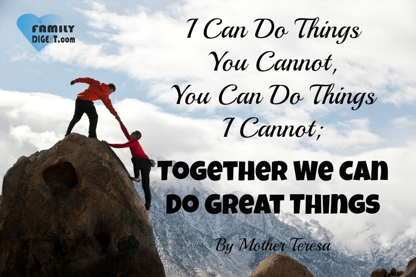 Can Do Great We You I Things Things Together Do Things Do Cannot Can Cannot I Can You