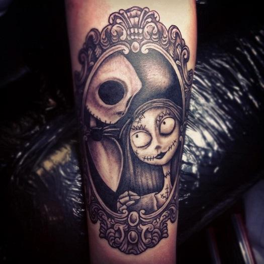 And Sally Jack Love Tattoos