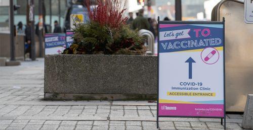 vaccine ontario city toronto canada news