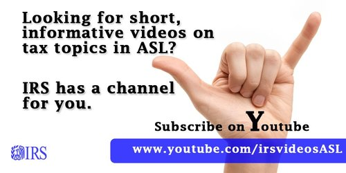 IRS Youtube
