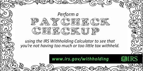 IRS PaycheckCheckup