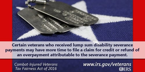 Veterans IRS VAdisability