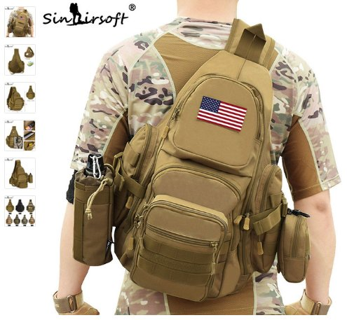 SINAIRSOFT 14 inch Laptop Molle Military backpack