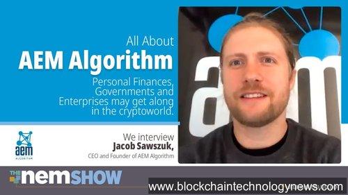 AEM_Algorithm NEM Symbol blockchain technology finances technology