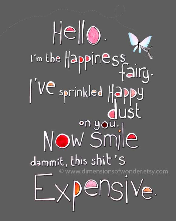funny inspirational quote life happiness fairy image lol