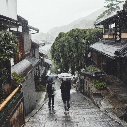 photo photograph photography asia asian travel japan japanese kyoto gion rain