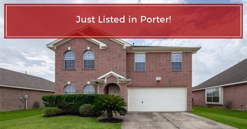 JUST LISTED in  Porter, Tx!