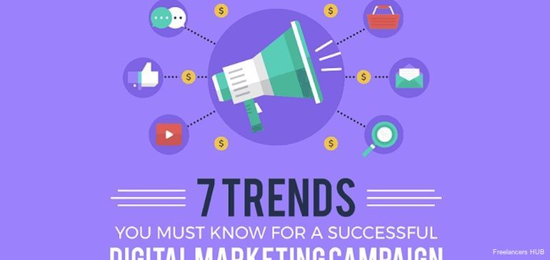 TOP 7 #DigitalMarketing Trends for Biz  Now [Infographic] #pr #biz  via