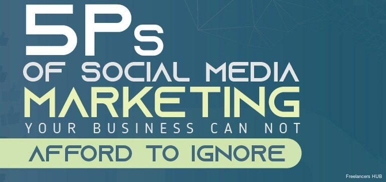 The 5 P's of Social Media Marketing [Infographic]  #smallbusiness by