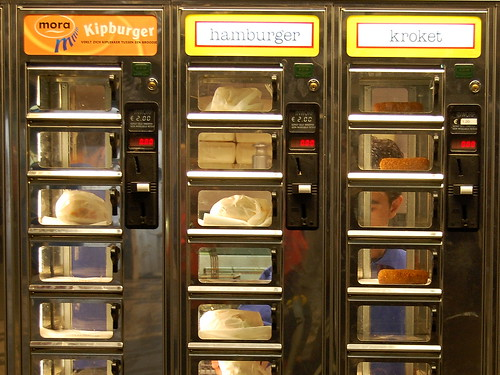 Dutch Vending Machine Wall