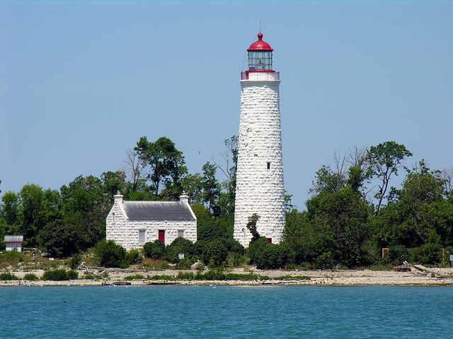 Chantry Island Lighthouse, Lake Huron, Ontario | Flickr ...