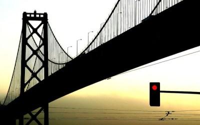 Bay Bridge Silhouette   Flickr - Photo Sharing!