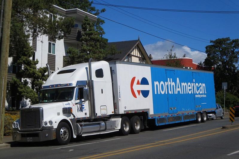 North American Van Lines Freightliner