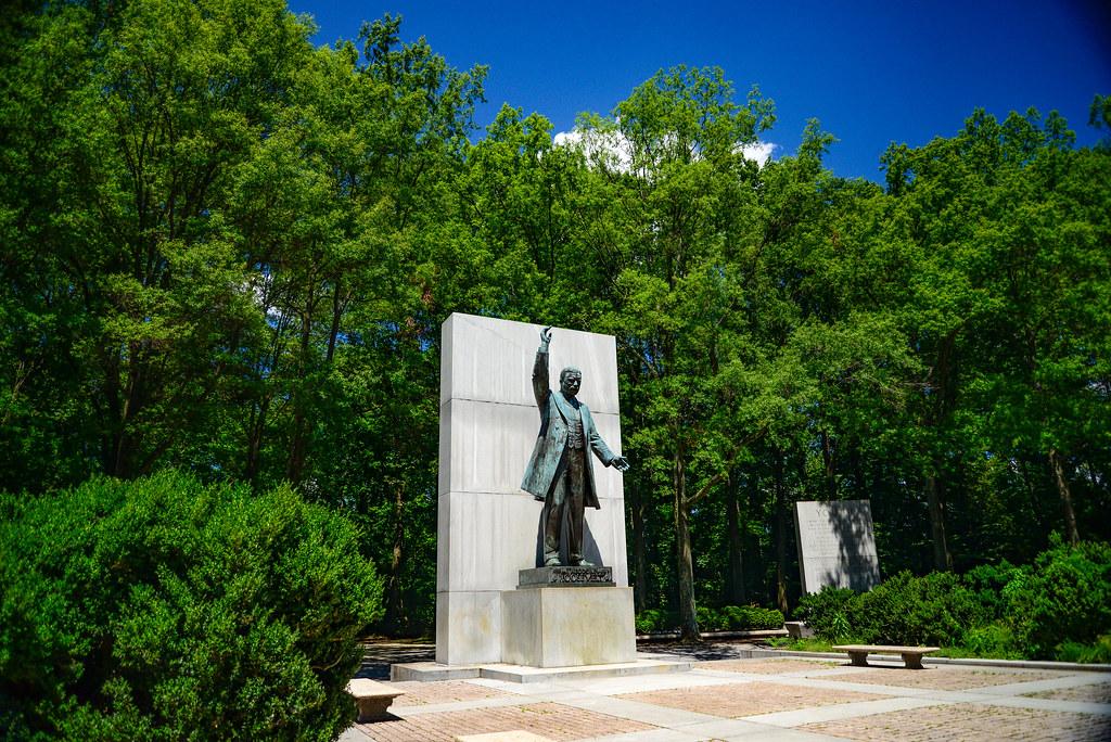 Washington George Park Hike Memorial