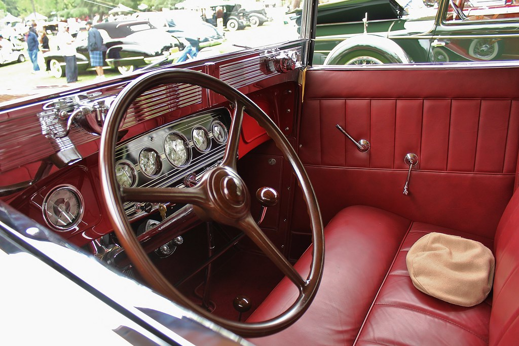 The World s Best Photos of 1934 and auburn   Flickr Hive Mind 5th Annual San Marino Motor Classic  USautos98  Tags  interior auburn  saloon coupe 1934