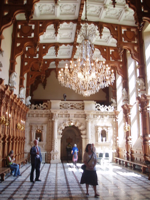 The Great Hall Harlaxton Manor Harlaxton Lincolnshire