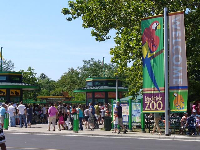 Brookfield Zoo Light Show