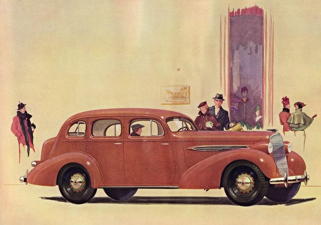 1935 Oldsmobile Eight 4 Door Touring Sedan The Touring