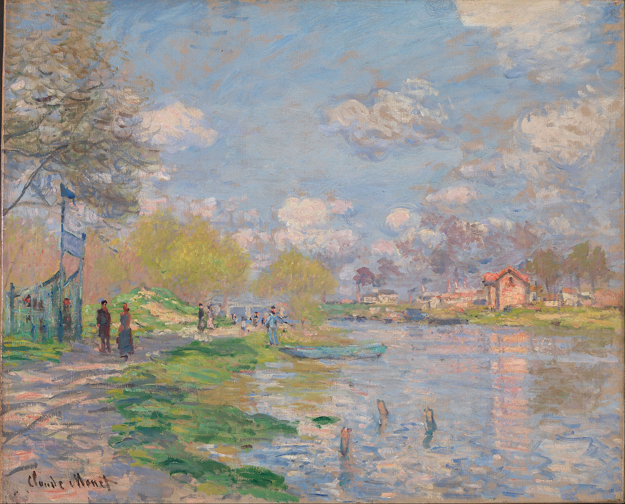 Monet Paintings Claude Food