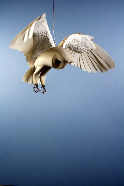Realistic Bird Sculptures From Paper Amp Wood Zack Mclaughlin