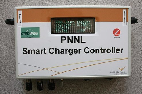 PNNL  News   Smart Charger Controller simplifies electric vehicle     Smart Charger Controller simplifies electric vehicle recharging