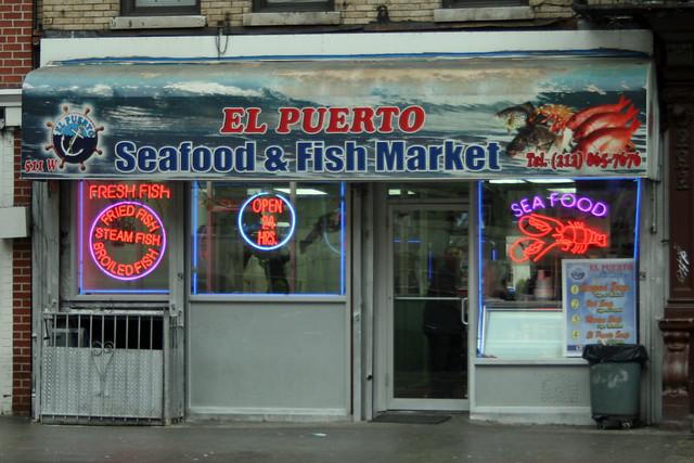 Fish Restaurant 125th Street