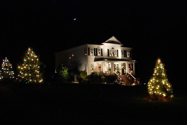 Mcadenville Christmas Lights