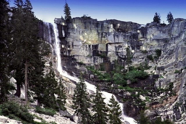 Grizzly Falls Trinity Alps Wilderness Flickr Photo