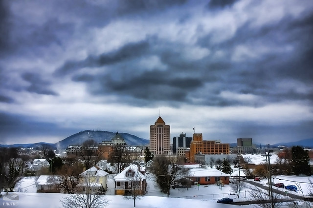 Roanoke In Winter I Think Today Is The First Day Of Winter Flickr