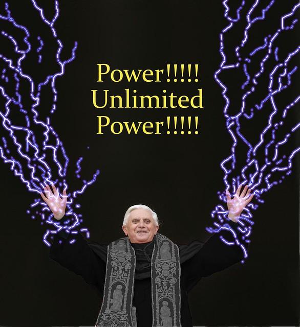 Palpatine Quotes: Pope Benedict Darth Sidious