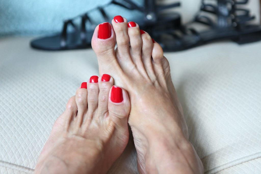 Sandals Pedicure Toes
