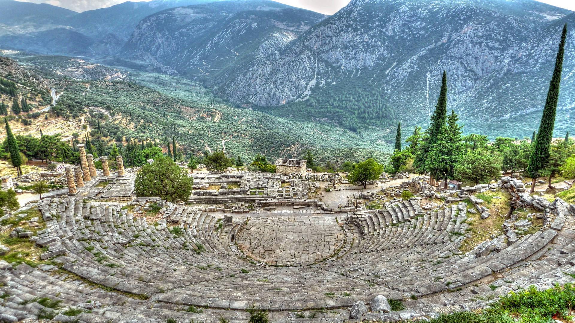 Farm Land Greece Ancient