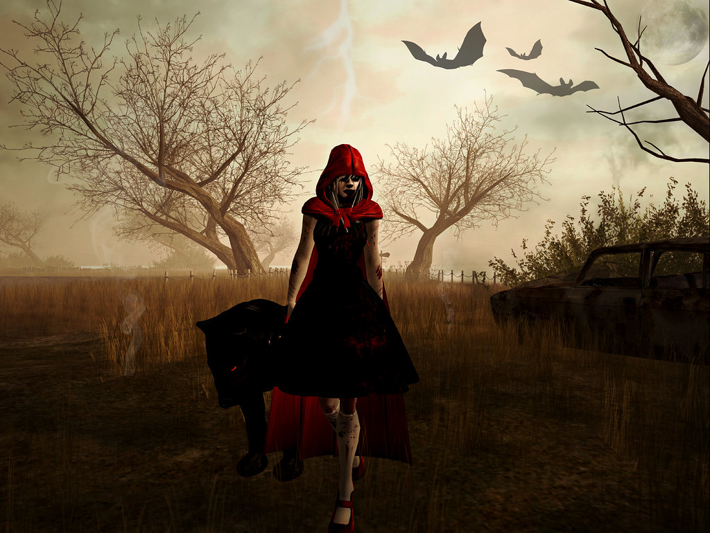 Evil Red Riding Hood Costume