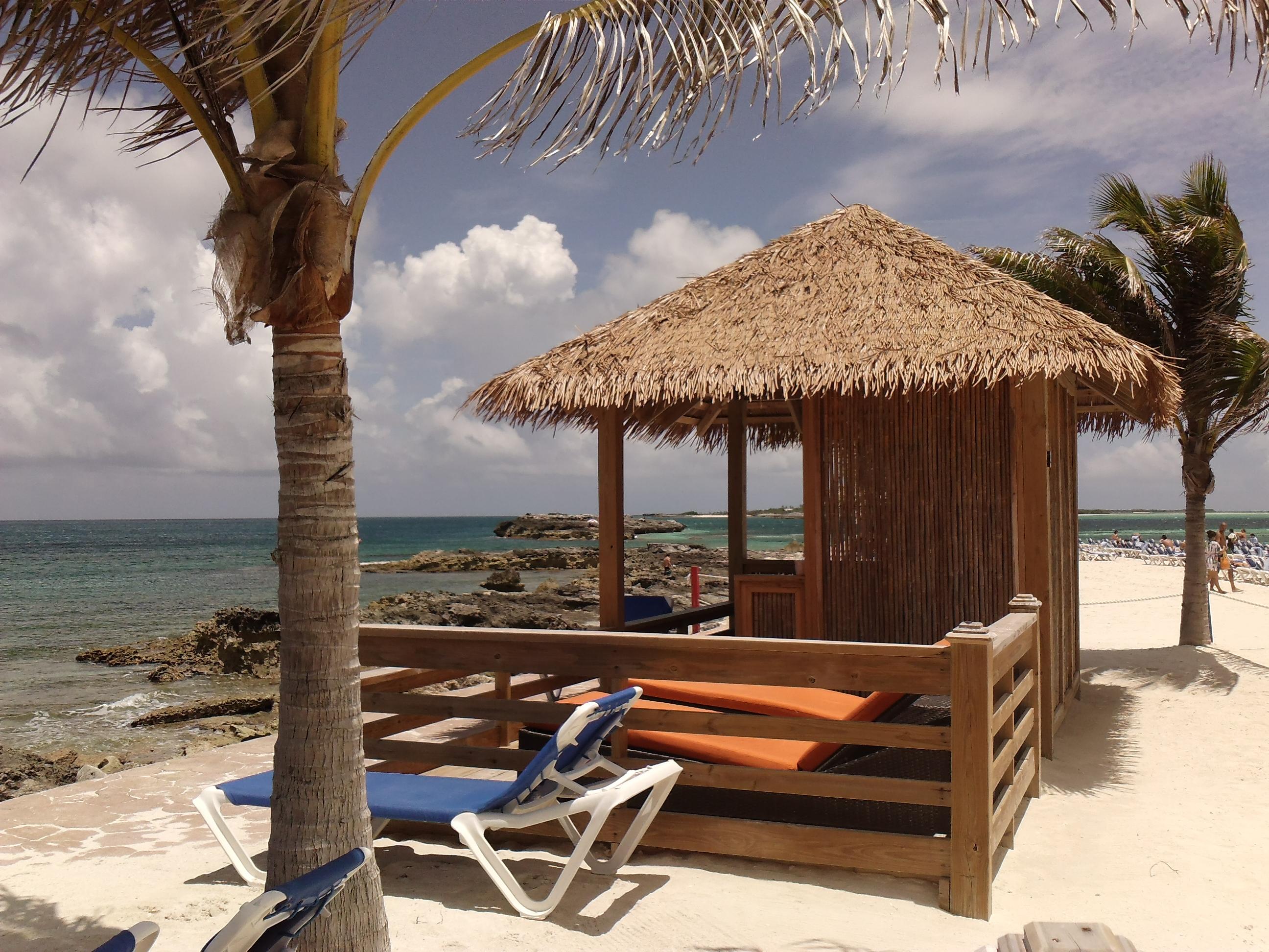 Coco Cay Bahamas Island Oasis Cabana Club Cabana 3