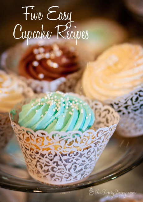 Five Wedding Cupcake recipes   Ashlee Marie   real fun with real food five easy cupcake recipes  made from doctored cake mix   red velvet  lemon