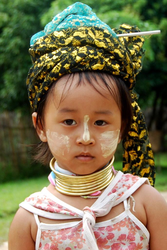People Neck Rings Myanmar